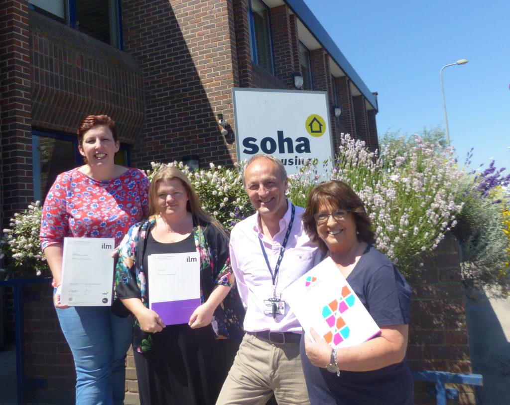 Bespoke Tenant Leadership Programme for Soha